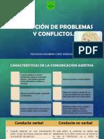 Resolución de Problemas y Conflictos