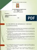 Exposicion Derecho Cosntitucional i