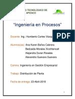 Ing. en Procesos