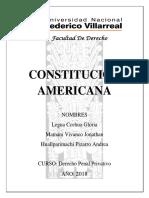 La Constitucion Americana