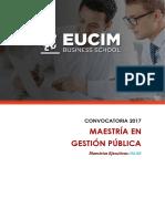 Brochure Gestion Publica
