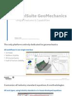 JewelSuite GeoMechanics Strengths