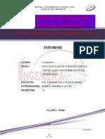 Informe de Caminos 006 Cálculos de Cotas en Curvas Verticales, Con Corrección de Pendientes Lu (Autoguardado)