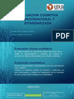Evaluacion Cognitiva Funcionacional y Estandarizada