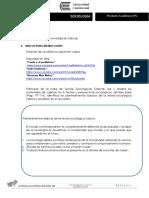 Producto Académico N1 (Entregable) - SOCIOLOGIA