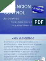 La Funcion Control