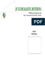 Kop Amplop Jalsatul Musthofa