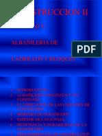 CONSTRUCCION II-CAP V- ALBAÑILERIA .ppt