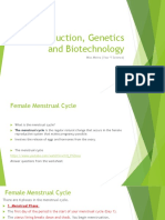 reproduction genetics and biotechnology  meina