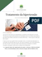 TRATAMENTO HIPERTENSAO