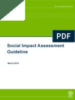 Social Impact Assessment Guideline