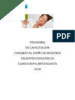 Programa 2018 SUEÑO