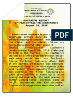 2nd Parents Teacher Conference