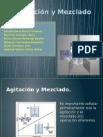 Agitación y Mezclado. Mecanica de Fluidos