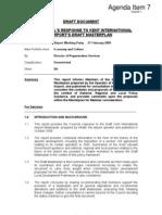 2009-02-27 KIA Master Plan TDC Response