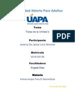 TAREA UNIDAD 2 Infotecnología Para El Aprendizaje