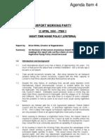 2009-04-22 TDC AWG Night Flights Policy Criteria