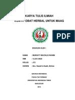 Karya Tulis Ilmiah Muriaty Muchlis Rahim