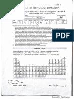 Soal Solusi UTS Kimia Dasar 20174