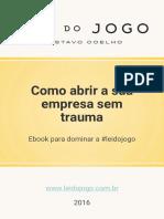 Lei Do Jogo - eBook Como Abrir a Sua Empresa Sem Trauma