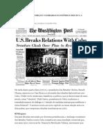 Entenda Como Começou o Embargo Econômico Dos Eua a Cuba