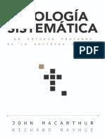 Teologia Sistemática - John MacArthur & Richard Mayhue