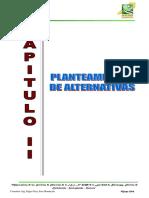 Informe de Alternativas Shiracayog