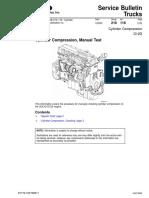 Cylinder Compression, Manual Test D12D