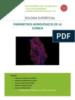 HIDROLOGIA-Parametros