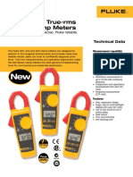 Fluke 323 Clamp Meter Catalouge From Fluke Supplier