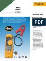 Fluke 365 Clamp Meter Catalog From Fluke Distributor
