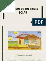 Exposicionde Un Panel Solar