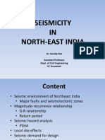 Seismicity in Northeast India Dr.sandip Das (1)