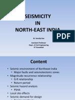 Seismicity in Northeast India Dr.sandip Das (1)