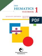 Gattegno Matemáticas Libro 1