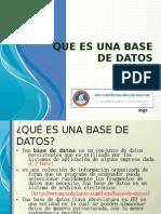 Que Es Una Base de Datos