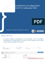 Procedimiento Reconfiguración SIU TCU Vía NRC