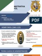 Teoria Clasica de Administracion