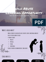 child abuse  learning opportunity  2