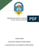 5ta.SEMANA- RIESGO Y CLASIFICACIÓN CARIES DENTAL vero.pdf