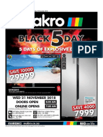 Makro Black Friday 2018 Deals