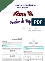 Estadística Tema IV Pruebas de Hipótesis.pdf