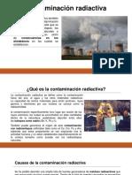 contaminacion radiactiva
