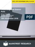Mainstreet Ridingpolls 19nov2018