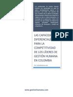 Qué Capacidades Diferenciales Deben Tener Los Líderes de Gestión Humana en Colombia