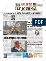 San Mateo Daily Journal 11-19-18 Edition