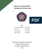 makalah pengembangan produk