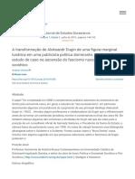 A Transformação de Aleksandr Dugin de Uma Figura Marginal Lunática Em Uma Publicitária Política Dominante, 1980-1998_ Um Estudo de Caso Na Ascensão Do Fascismo Russo Tardio e Pós-soviético - ScienceDirect