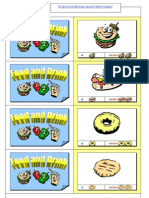 Food Drink Flashcards Snack
