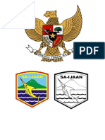 Contoh Lambang Negara Dan Daerah Kotabaru (2)